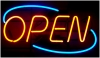 OPEN NEON HORIZONTAL SIGN